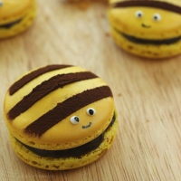 Honey Bee Macarons