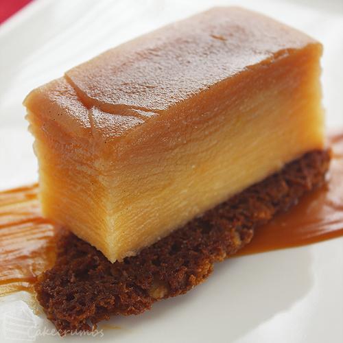 Apple confit cake recipe