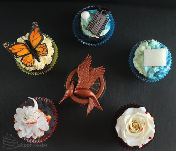 The Hunger Games Catching Fire Cupcakes Cakecrumbs