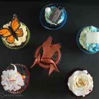 The Hunger Games: Catching Fire Cupcakes
