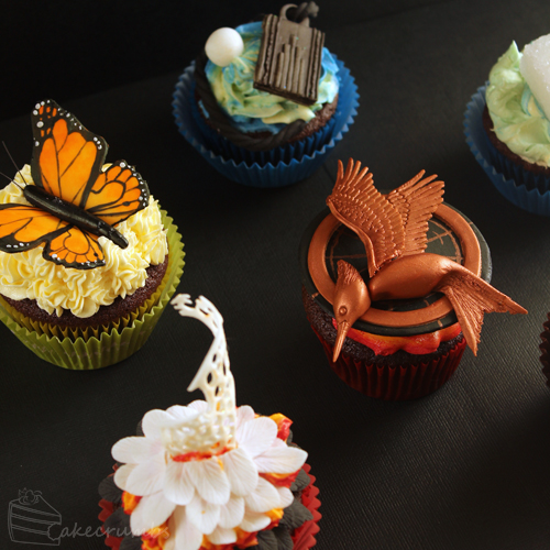 Cakecrumbs' Catching Fire Cupcakes 02