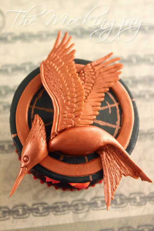 Cakecrumbs' Catching Fire Cupcakes 13