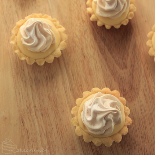 Cakecrumb's Lemon Meringue Tartlets 08