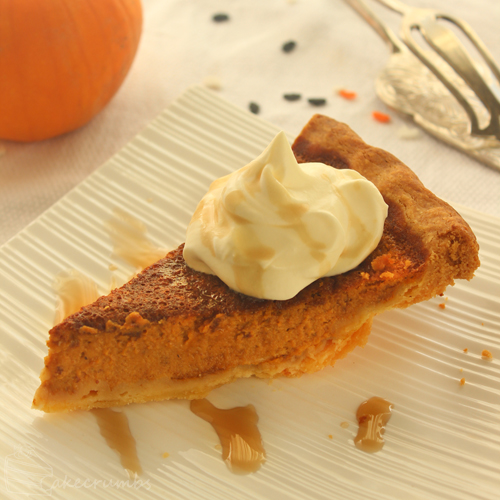 Cakecrumbs' Pumpkin Pie 00