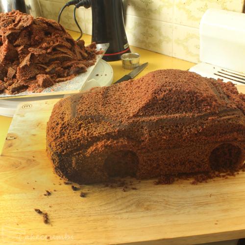 Race Car Birthday Cake Cakecrumbs