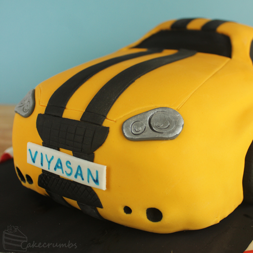 Cakecrumbs' Race Car Cake 05