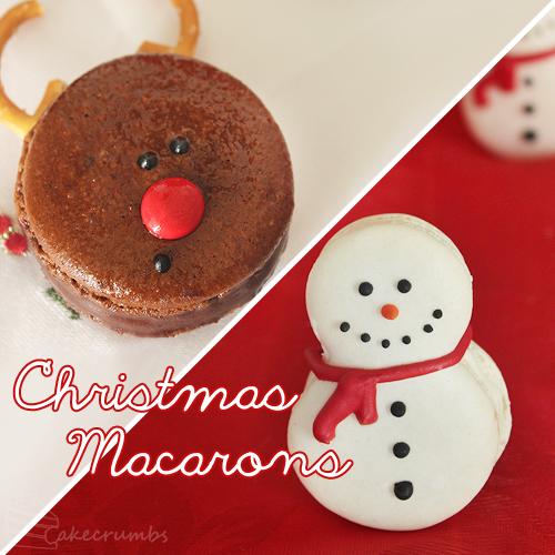 Cakecrumbs' Christmas Macarons 00