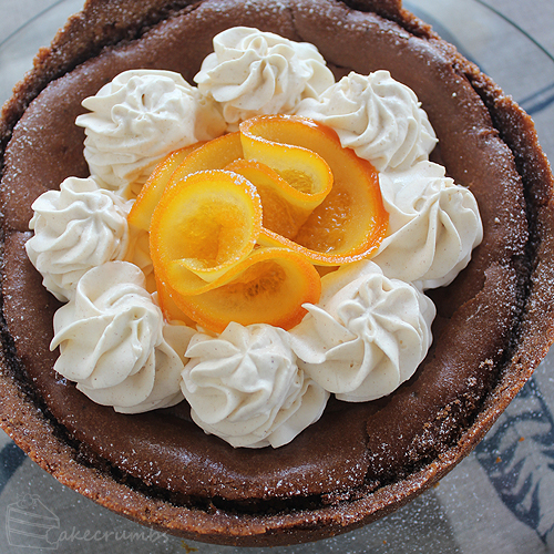 Cakecrumbs' Choc Orange Baked Cheesecake 00