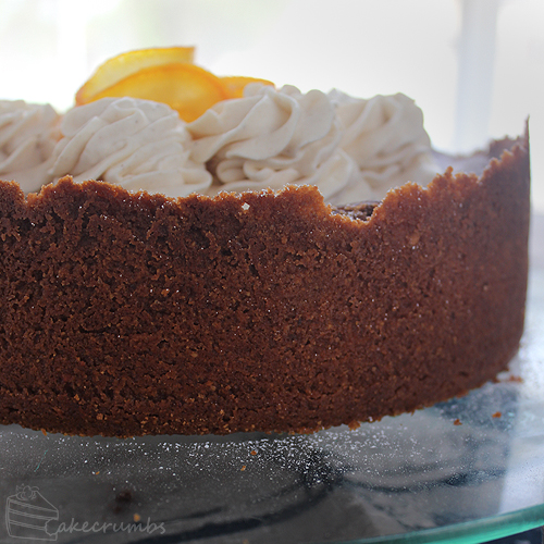 Cakecrumbs' Choc Orange Baked Cheesecake 012