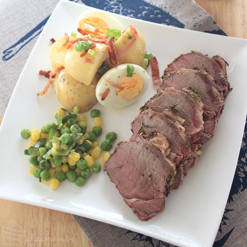 Cakecrumbs' Herb Crusted Beef Sirloin 05