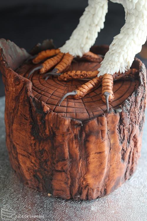 Cakecrumbs' Tasmanian Masked Owl Cake 13