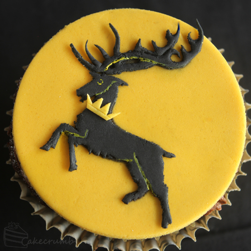 Cakecrumbs' Game of Thrones sigil cupcakes 08