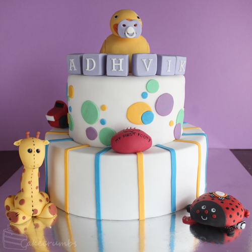 Cakecrumb's Kids Toy Birthday Cake 00
