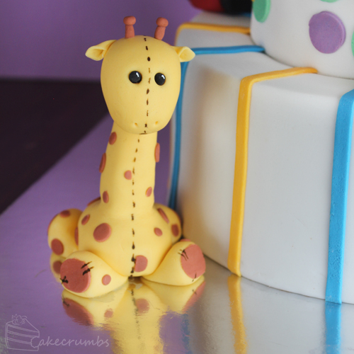 Cakecrumb's Kids Toy Birthday Cake 01