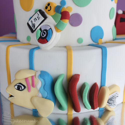 Cakecrumb's Kids Toy Birthday Cake 05