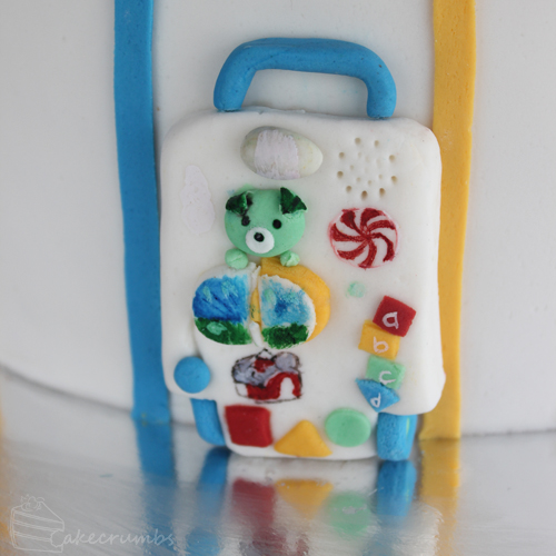 Cakecrumb's Kids Toy Birthday Cake 06