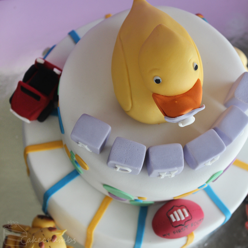 Cakecrumb's Kids Toy Birthday Cake 07