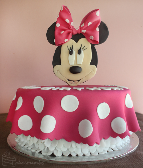 Cakecrumbs' Minnie Mouse Cake 00