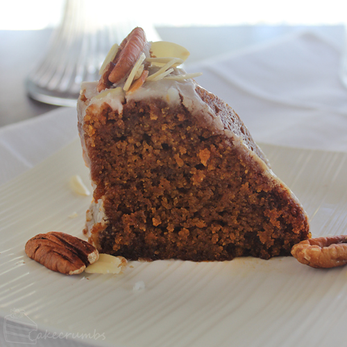 Cakecrumbs' Moist Pumpkin Cake 04