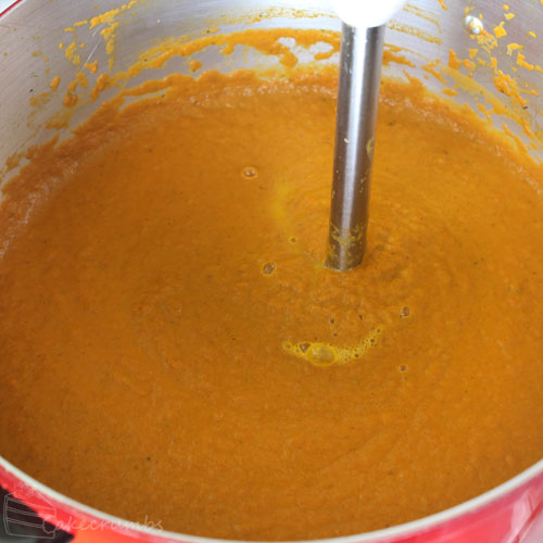 Cakecrumbs' Morrocan Carrot Soup 08