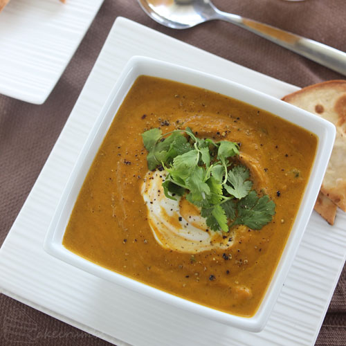 Cakecrumbs' Morrocan Carrot Soup 09