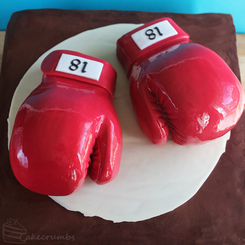 Cakecrumbs' Boxing Glove Cake 00