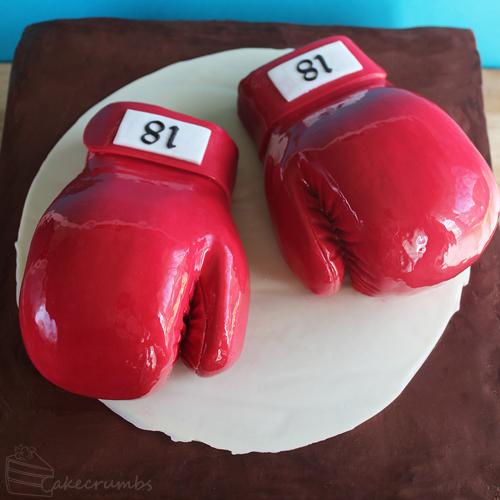 Cakecrumbs' Boxing Glove Cake 00