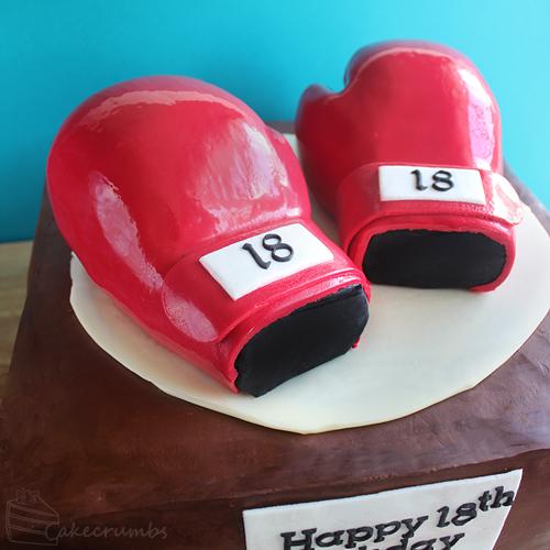 Cakecrumbs' Boxing Glove Cake 02