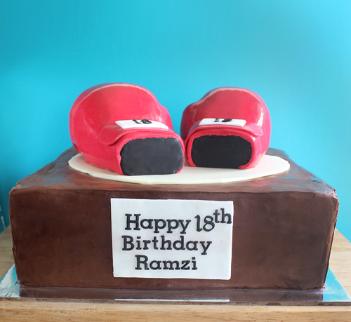 Cakecrumbs' Boxing Glove Cake 04
