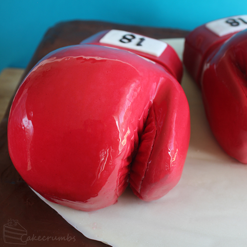 Cakecrumbs' Boxing Glove Cake 05