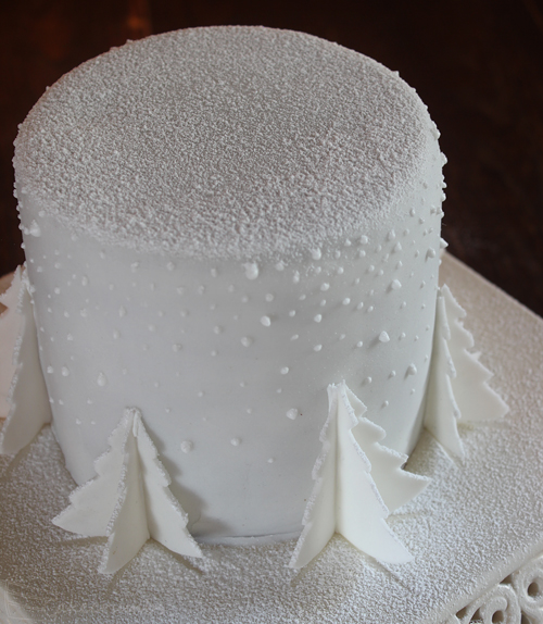 Cakecrumbs' White Christmas Tree Cakes 22