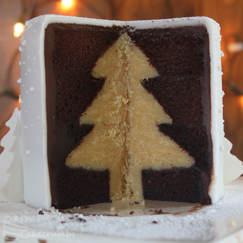 Cakecrumbs' White Christmas Tree Cakes 27