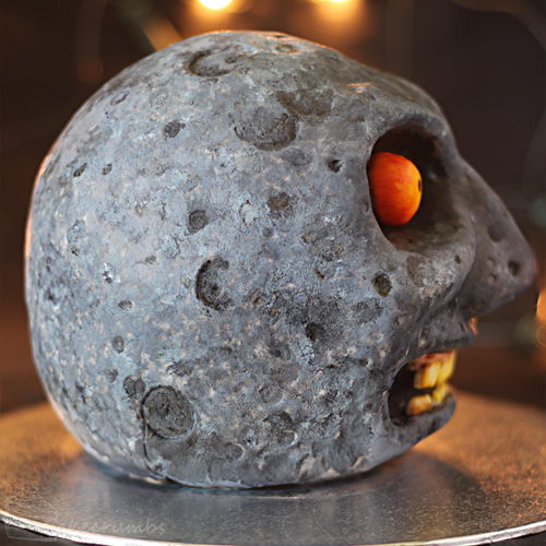 Cakecrumbs Majoras Mask Moon Cake 06
