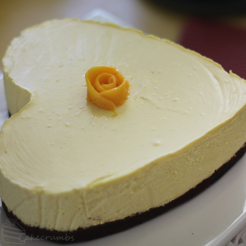 Cakecrumbs' Mango Cheesecake 07