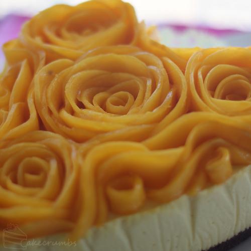 Cakecrumbs' Mango Cheesecake 08