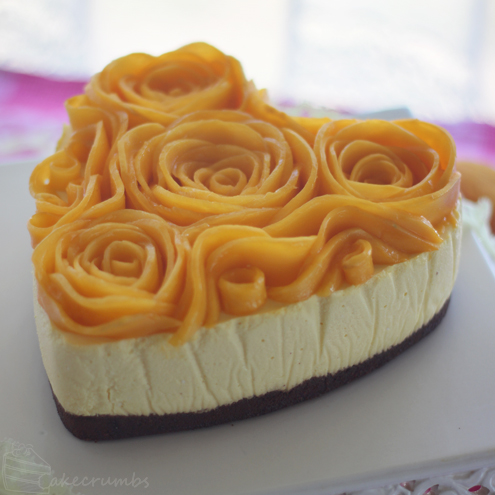 Cakecrumbs' Mango Cheesecake 09