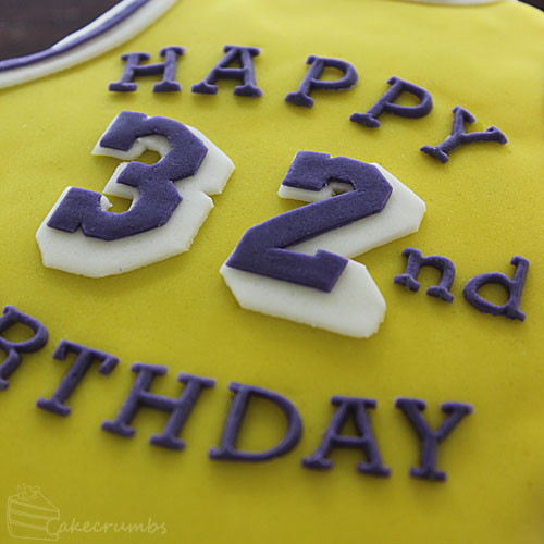Cakecrumbs' Magic Johnson Birthday Cake 03