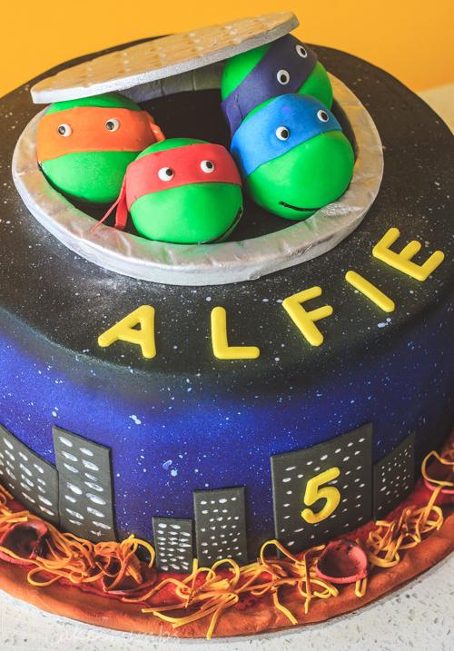 Pleasant Tmnt Birthday Cake Cakecrumbs Personalised Birthday Cards Paralily Jamesorg