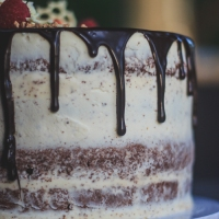 Chocolate Sponge Drip Cake