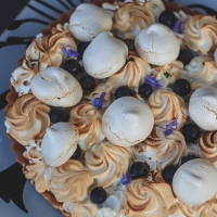 Golden Lemon Meringue Tart